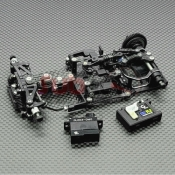 GL RACING, GL-GT-001-KSET 1/28 RWD CHASSIS W/0 RX