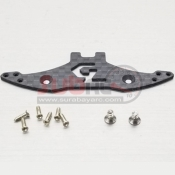 GLRACING, GLA-035-OP1 CARBON PLATE FOR LEXAN BODY BUMPER STAND