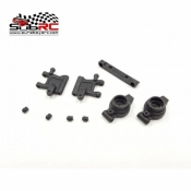 GLRACING, GLA-S002 REAR ARM W/ HUBS SET