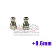 GLRACING, GLA-S010-P STEERING BALL JOINT 2,5MM H+0,6MM