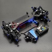 GL RACING, GLA-V2-001-KSET GLA-V2 1/27 4WD CHASSIS