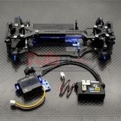 GLRACING, GLA-V2.1-001-KSET GLA V2 1/27 AWD CHASSIS W/O TX