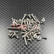 GL RACING, GLA-V2-S012 GLA V2 STAINLESS STEEL SCREW SET
