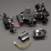 GL RACING, GLD-001-KSET GLD 1/28 RWD DRIFT CHASSIS