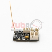 FLYSKY, GMR 2,4GHZ 4CH AFDHS 3 MICRO RECEIVER PWM OUTPUT COMPATIBLE