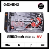 GNB60002S120IHV 6000MAH 2S HV 7.6V 120C SHORTY 5MM CASE