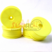 SPEED MIND, GT404Y AERO DISH WHEEL SET YELLOW