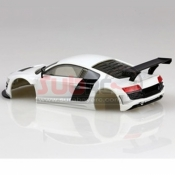 IWAVER, IW424-R8W 1/28 AUDI R8 WHITE BODY SET