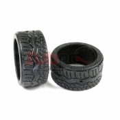 PN RACING, KS2728 MINI-Z KS COMPOUND RCP TYPE F REAR TIRE MEDIUM 2 PCS