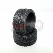 PN RACING, KS2838 KS COMPOUND RCP RADIAL REAR TIRE EXTRA FIRM