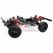 KYX, KYX-CHASSIS 1/10 RC CRAWLER METAL 313MM WHEELBASE UPGRADE AXIAL SCX10 II CHASSIS