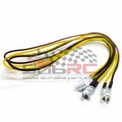 YEAH RACING, LK-0004YW LED YELLOW FOR SIX SLOT LED LIGHT KIT