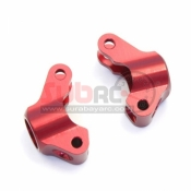 KYOSHO, MBW019R ALUMINIUM REAR HUB CARRIER RED
