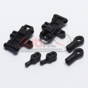 KYOSHO, MDW100-07 REAR LONG SUS ARM SET FOR AWD DWS