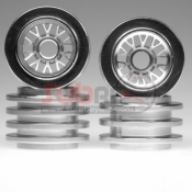 KYOSHO, MFH52S ALUMINIUM WHEEL BBS/10 SPOKE