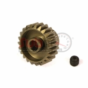 YEAH RACING, MG-48021 ALUMINIUM 7075 HARD COATED MOTOR GEAR / PINION 48 PITCH 21 TEETH