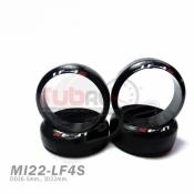 DS RACING, MI22-LF4S MINI DRIFT TIRE LF-4S FOR WHEEL 22MM N W