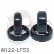 DS RACING, MI22-LF5S MINI DRIFT TIRE LF-5S FOR WHEEL 22MM N W