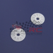 PN RACING, MR2068W V2 WHITE DELRIN DISK SET 2PCS
