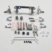 PN RACING, MR2500S MR02 UNEQUAL A-ARM SILVER
