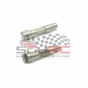 PN RACING, MR2506 MINI-Z MR02/03 DOUBLE A-ARM STAINLESS STEEL UPPER ARM PIN 2PCS