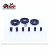 PN RACING, MR2604B 64P DELRIN SPUR + PINION KIT