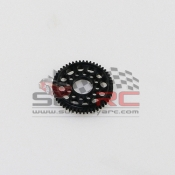 PN RACING, MR2953 MINI-Z 2WD MACHINE CUT DELRIN LIMITED SLIP 64P V2 SPUR GEAR 53T