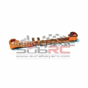 PN RACING, MR3017 MINI-Z MR03 ALUM TIE ROD W 0 ORANGE