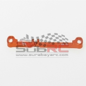 PN RACING, MR3050G MR03 DOUBLE A-ARM 0 DEG TIE ROD ORANGE