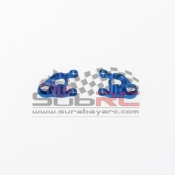 PN RACING, MR305LB MINI-Z MR02/03 DOUBLE A ARM LOWER ARM SET BLUE