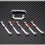 PN RACING, MR3060S DOUBLE A-ARM WIDE CONVERSION KIT SILVER