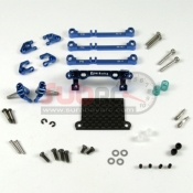 PN RACING, MR3070B MINI-Z MR02/03 PNR 2.5W DOUBLE A-ARM FRONT SUSPENSION BLUE