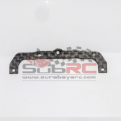 PN RACING, MR3399F MINI-Z TRI DAMPER SYSTEM 98MM SIDE PLATE BLACK