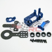 PN RACING, MR9094B MR02/03 90-94MM MM MOTOR MOUNT - BLUE