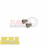 ATOMIC, MRZ-14 3.5MM M2 SCREW BALL HEAD 2PCS