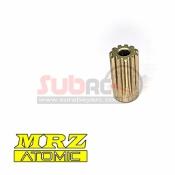 ATOMIC, MRZ-UP24-11 HARD COATED 64P PINION 11T MRZ