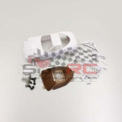 KYOSHO, MZN124 599XX WHITE BODY NON DECORATION (DISCONTINUED PRODUCTS)
