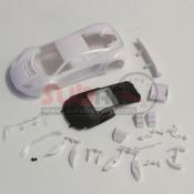 KYOSHO, MZN163 MCLAREN 12C GT3 2013 WHITE BODY SET NON DECORATION