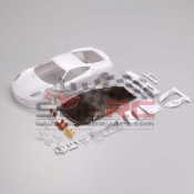 KYOSHO, MZN97 FERRARI F430GT WHITE BODY NBON DECORATION