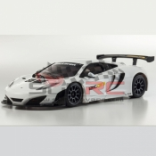 KYOSHO, MZP226W MINI-Z ASC MR03 MM MCLAREN 12C GT3 2013 WHITE
