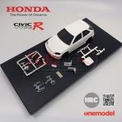 ONE MODEL. OM200 HONDA CIVIC TYPE-R EK9 WHITE BODY SET