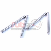 YEAH RACING, PIN-E328 STAINLESS STEEL PIN 3X30MM 4PCS WITH E-RING USE