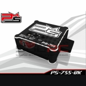 POWERSTAR, PS-755 ALUMINIUM CASE HIGH STABILITY GYRO FOR RC CAR DRIFT F1 TOURING ONROAD BLACK