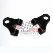 REFLEX RACING, RX1191 MR03 MACHINED DELRIN EXTRA LONG UPPER ARMS
