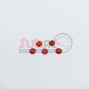 SUBRC, SBRC-A001R M2 FLANGED LOCKNUT WITH NYLON RED FOR AWD