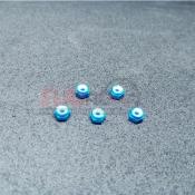 SUBRC, SBRC-A002B M2 LOCKNUT WITH NYLON BLUE FOR AWD/RWD