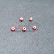 SUBRC, SBRC-A002R M2 LOCKNUT WITH NYLON RED FOR AWD/RWD