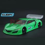 SUBRC, SBRC-B010 1/28 LEXAN TOURING BODYSHELL NSX GT3