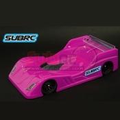 SUBRC, SBRC-B011 SBR PAN CAR BODYSHELL 0.7MM