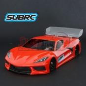 SUBRC, SBRC-B012 STR LEXAN TOURING BODYSHELL 98MM (SUPER DETAIL)
